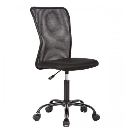 New Middle Back Office Chair Black Ergonomic Net Chair